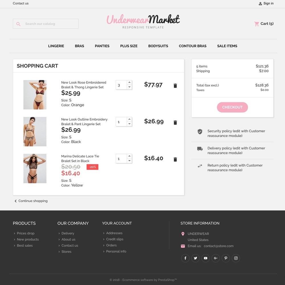 theme - Bielizna & Dorośli - Underwear Market - 6