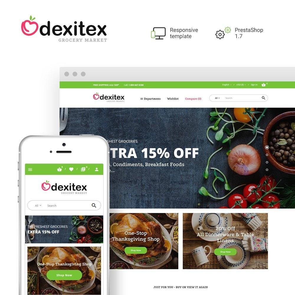 theme - Food & Restaurant - Dexitex - Grocery Market - 1