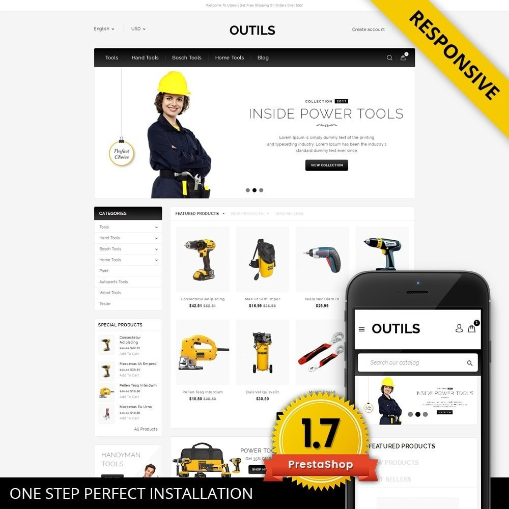 theme - Electronics & Computers - Outils - Tools Shop - 1