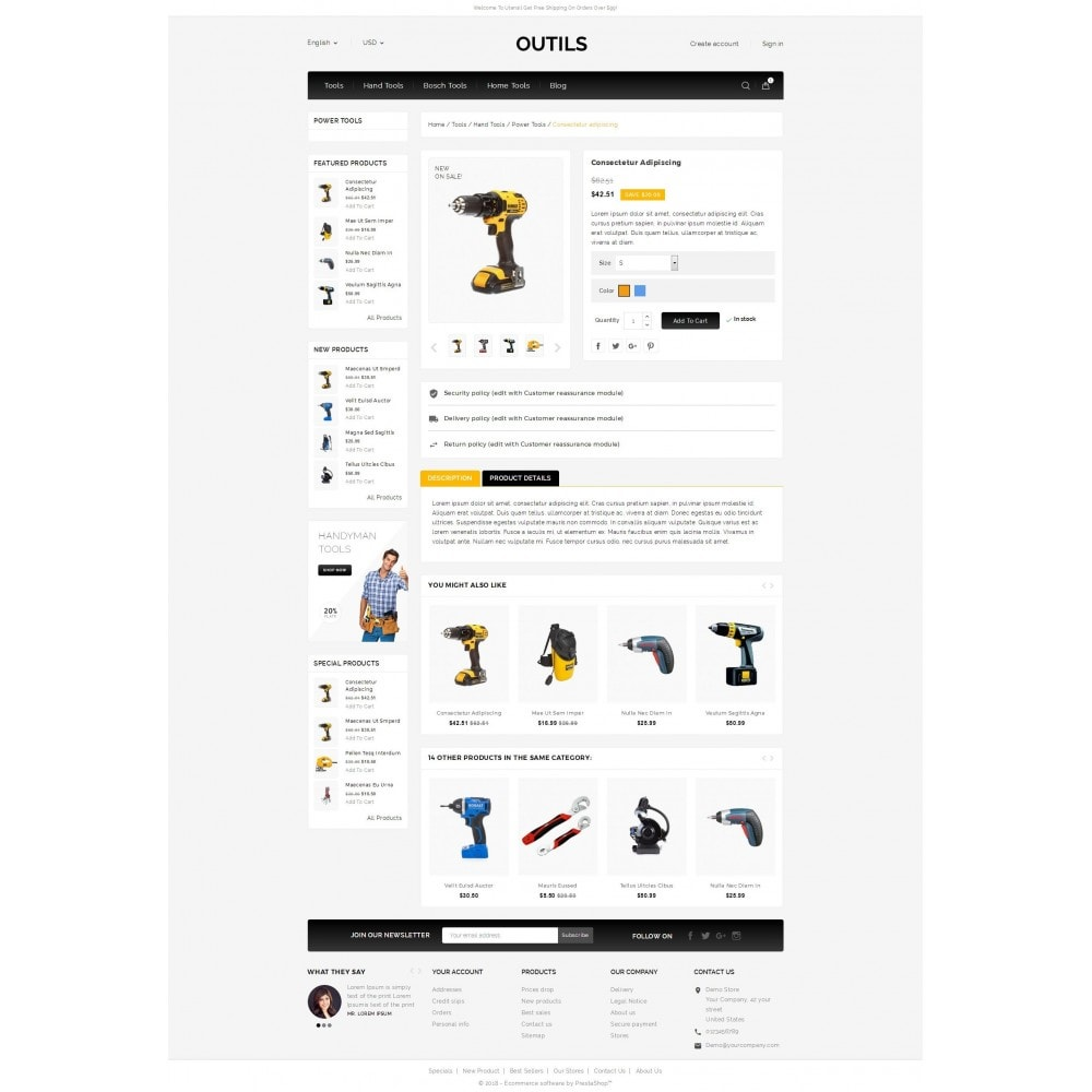 theme - Electronics & Computers - Outils - Tools Shop - 5