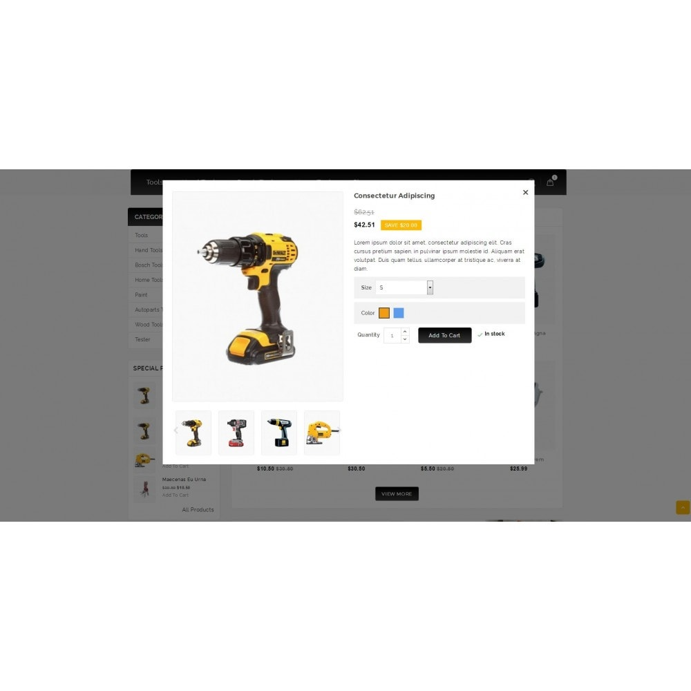 theme - Electronics & Computers - Outils - Tools Shop - 7