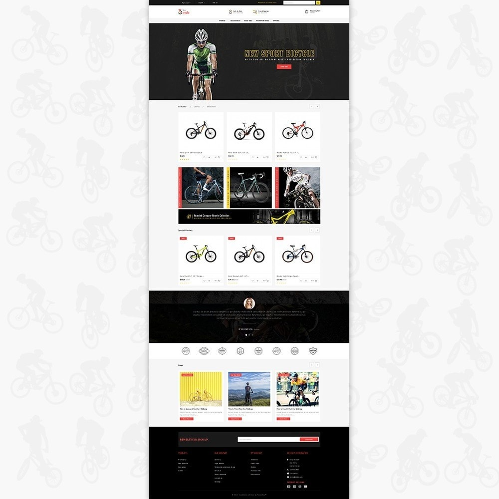 theme - Sports, Activities & Travel - Bicycle Sports Store - 2