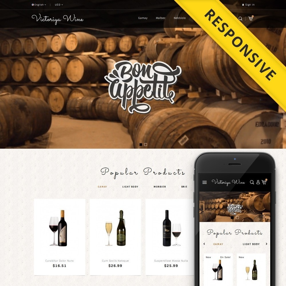 theme - Drink & Tobacco - Victoriya Wine Shop - 1