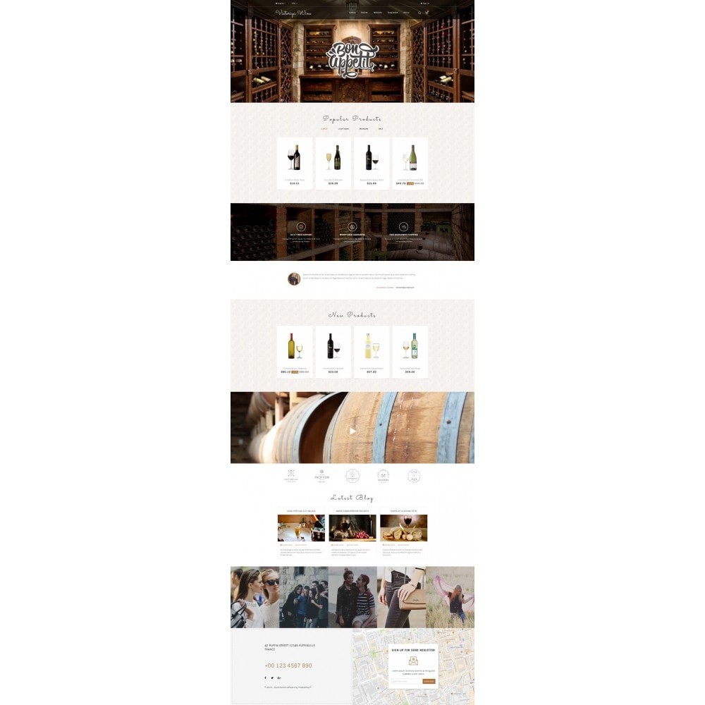 theme - Drink & Tobacco - Victoriya Wine Shop - 2