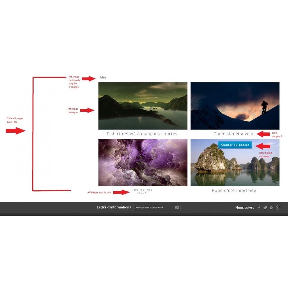 module - Visuels des produits - Grille Image Facile - 18