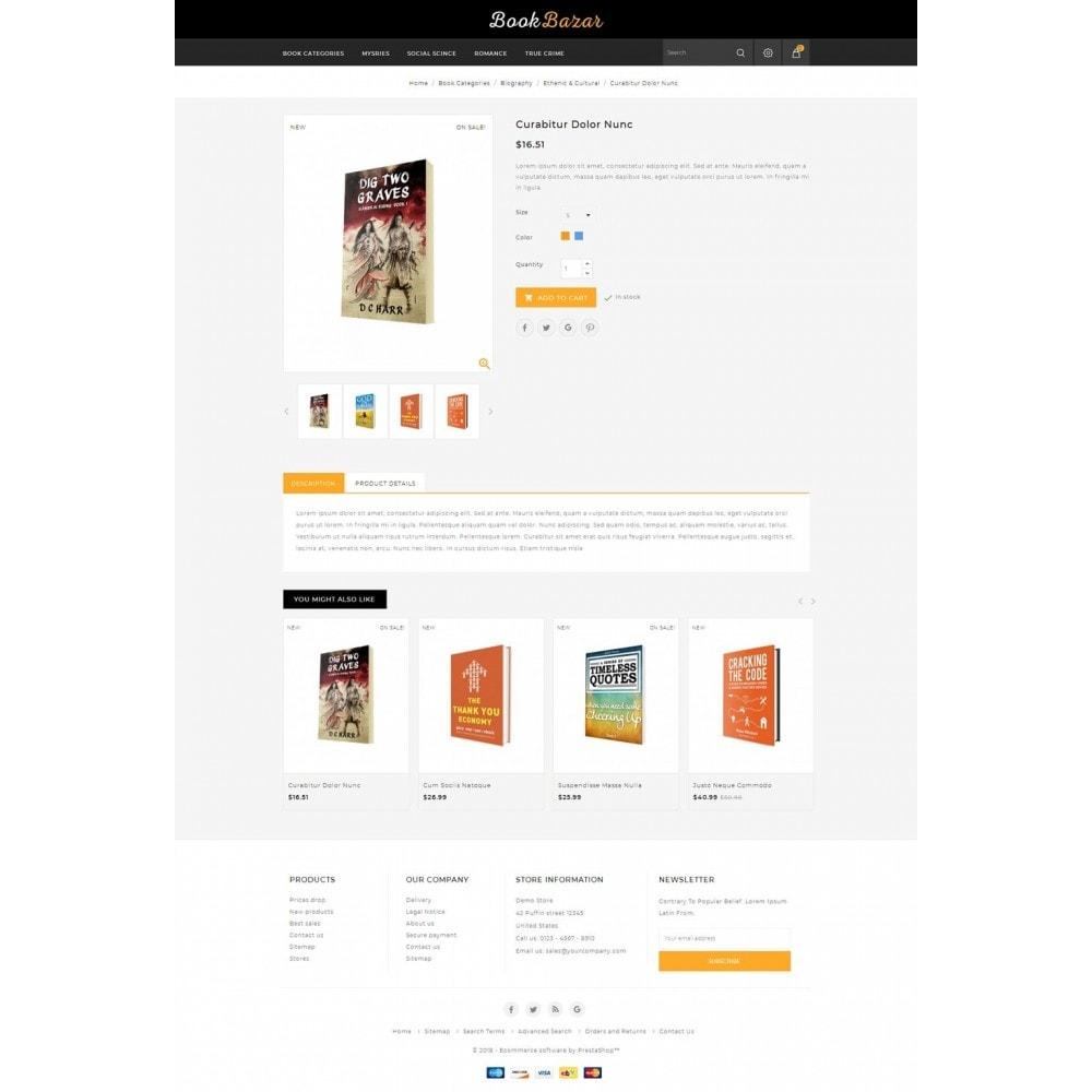 theme - Deportes, Actividades y Viajes - Book Bazar Store - 4