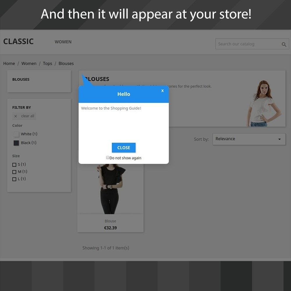 module - Всплывающие окна - Shopping Guide - 4