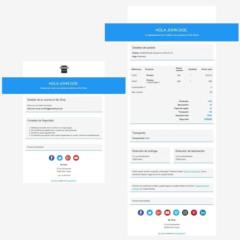email - Plantillas de correos electrónicos PrestaShop - Head – Plantilla de correos electrónicos - 3