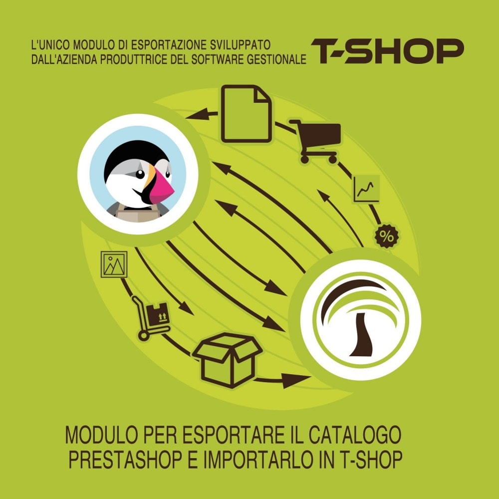 module - Datenmigration & Backup - Export all products from PrestaShop to T-Shop - 2