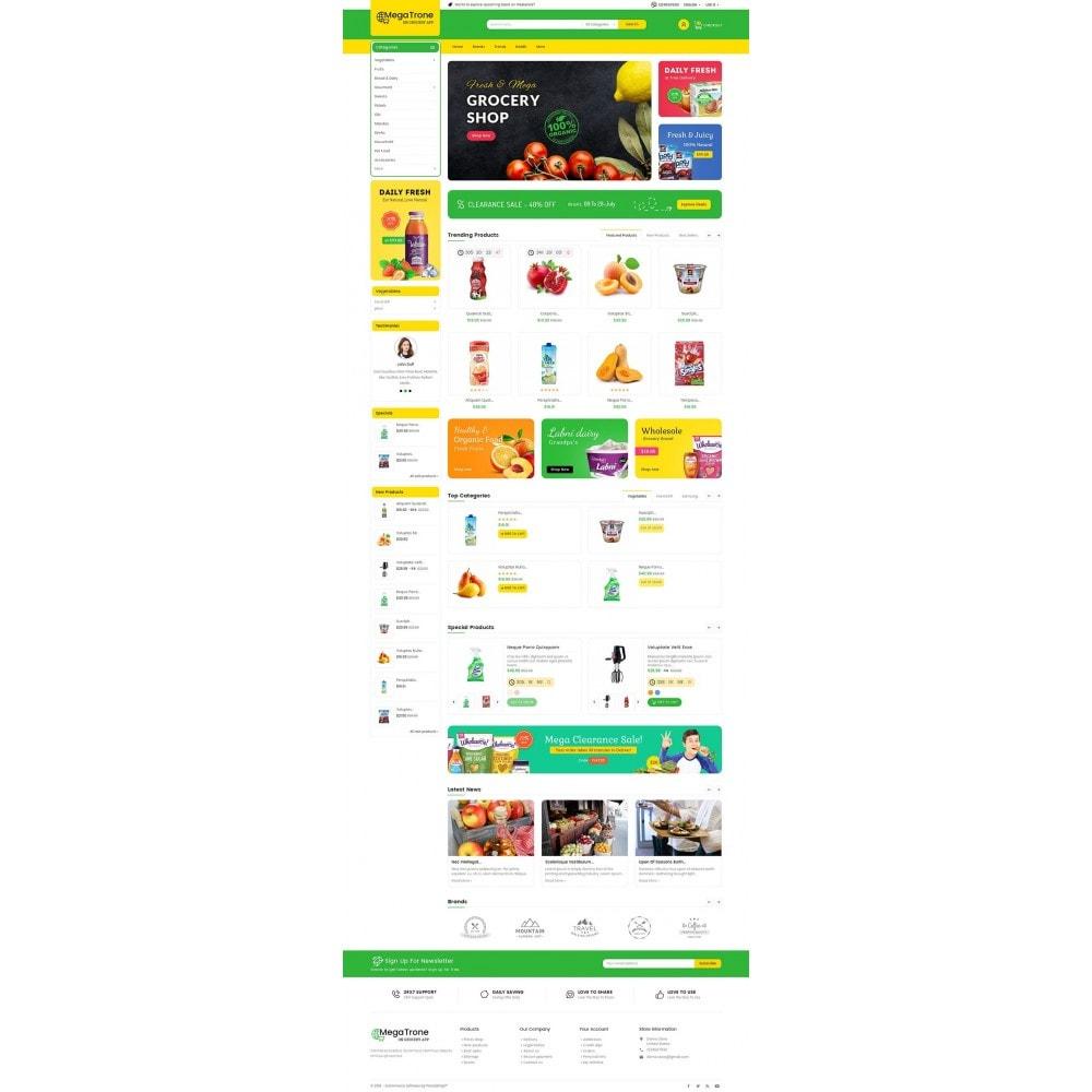 theme - Żywność & Restauracje - Mega Trone Grocery - 2