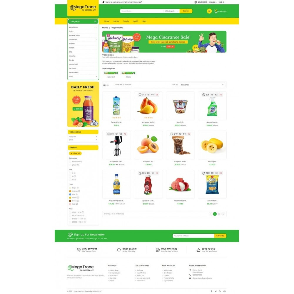 theme - Eten & Restaurant - Mega Trone Grocery - 3