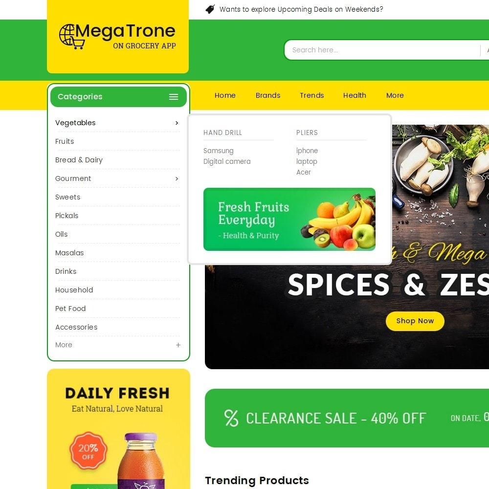 theme - Żywność & Restauracje - Mega Trone Grocery - 9