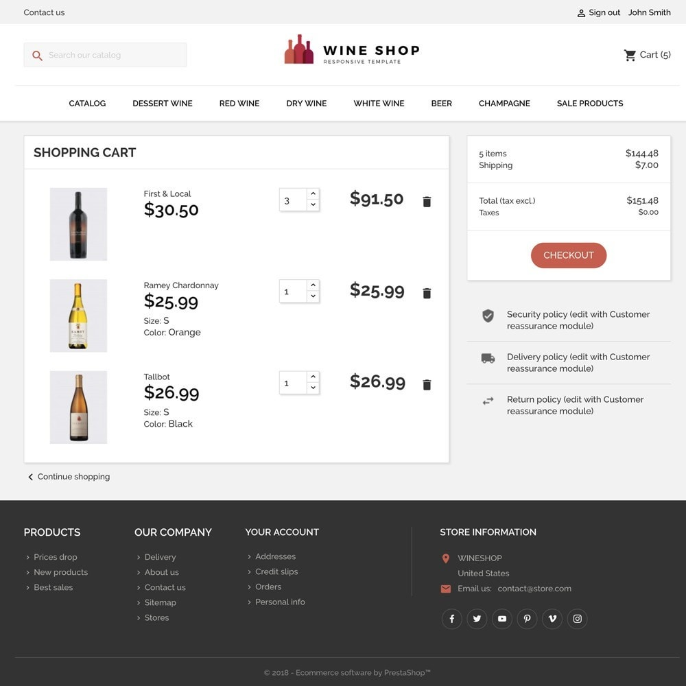 theme - Drink & Wine - WINESHOP - 5
