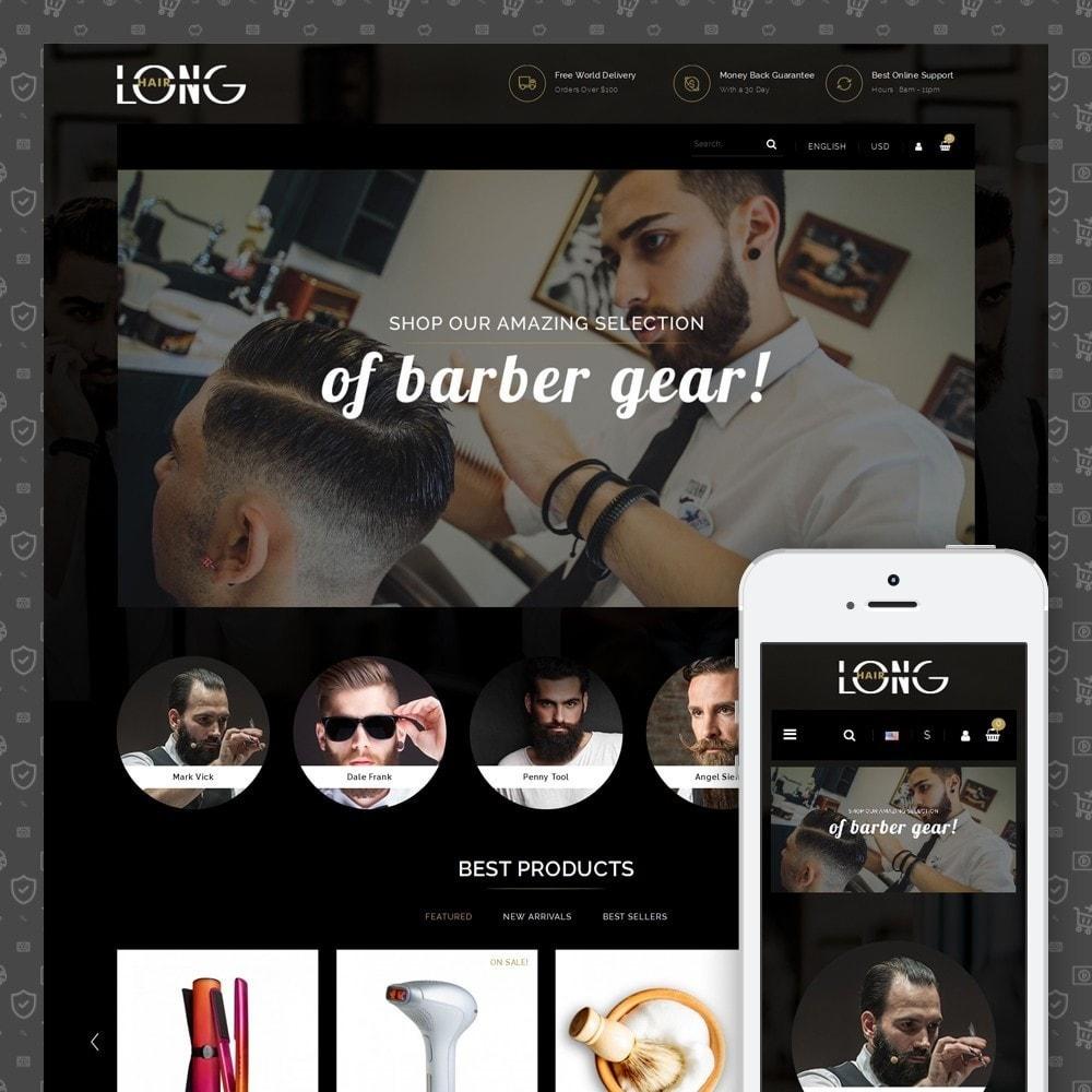 theme - Zdrowie & Uroda - Barbara Hair Salon - 1