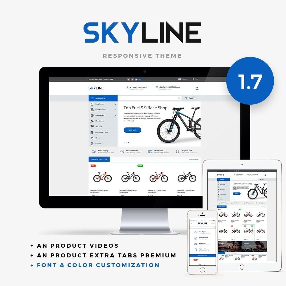 theme - Спорт и Путешествия - SkyLine - 1