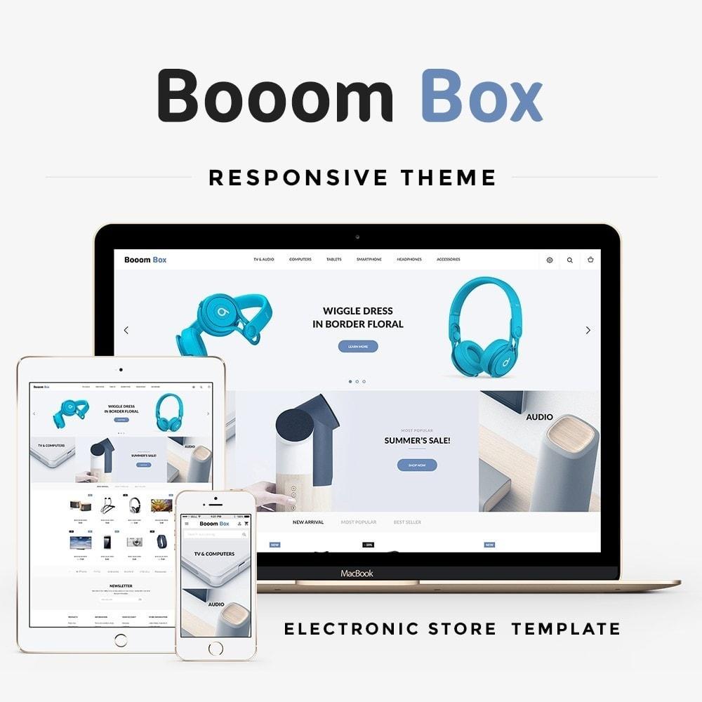 theme - Elektronica & High Tech - Booom box - High-tech Shop - 1