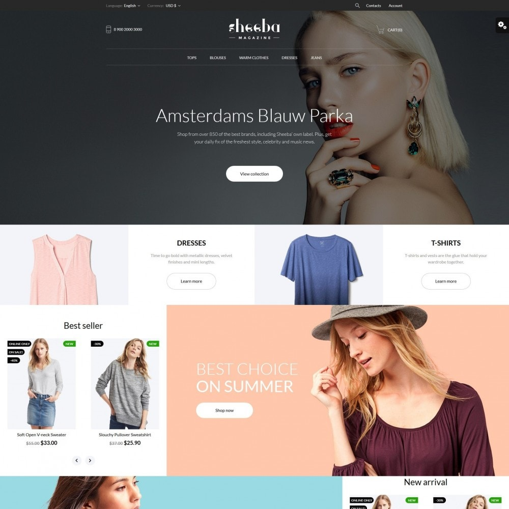 theme - Moda y Calzado - Sheeba Fashion Store - 2