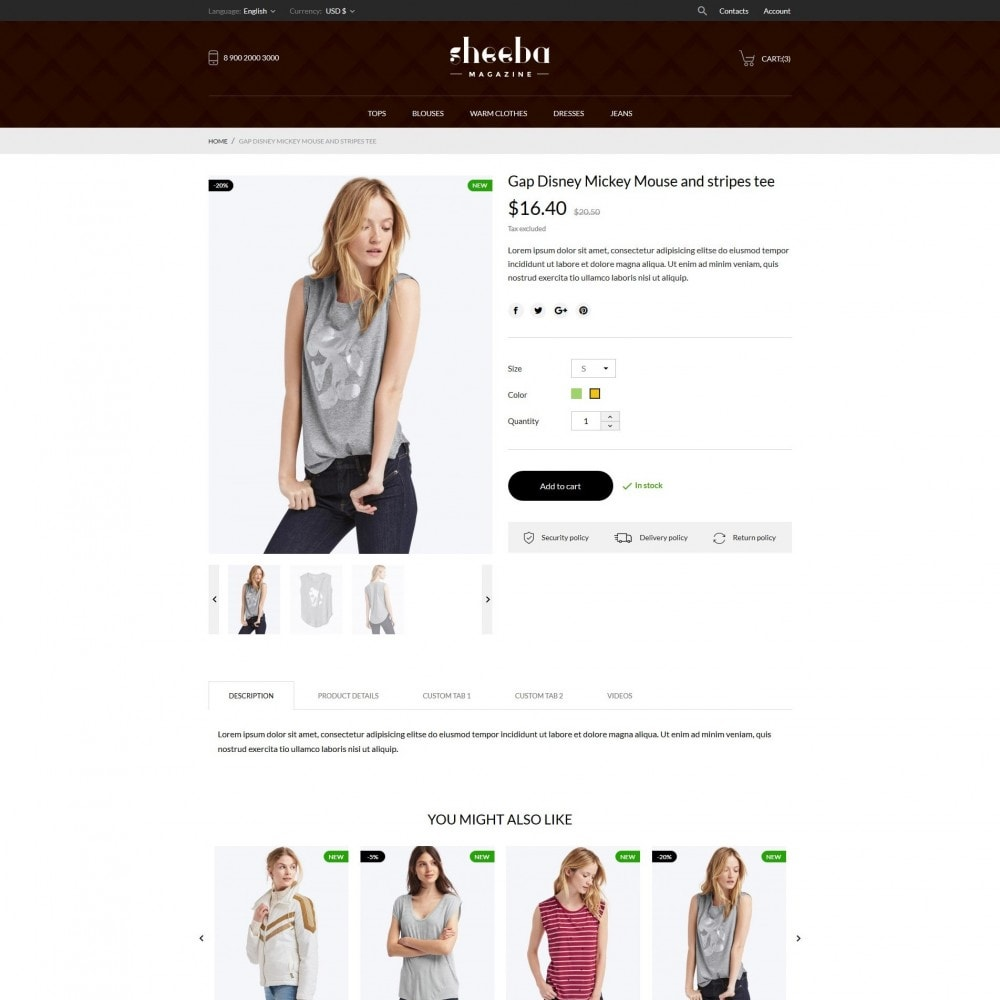 theme - Moda y Calzado - Sheeba Fashion Store - 7