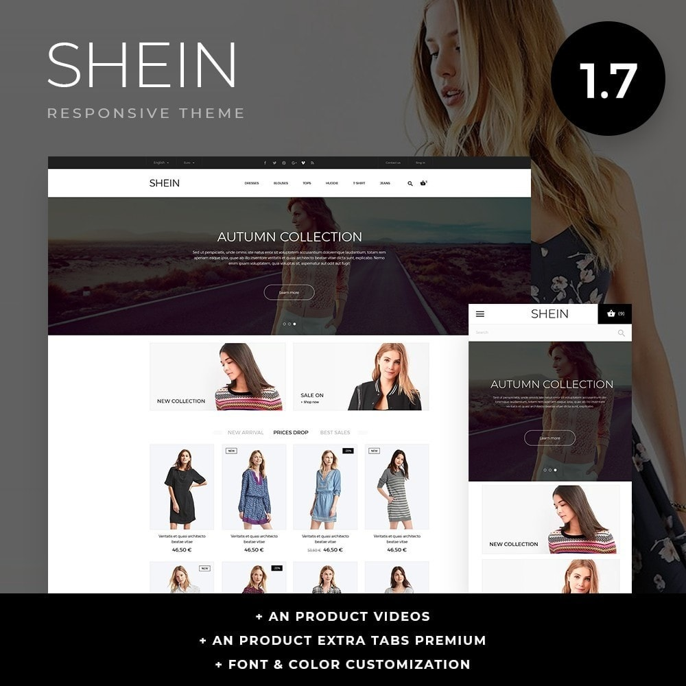 theme - Fashion & Shoes - Shein Fashion Store - 1