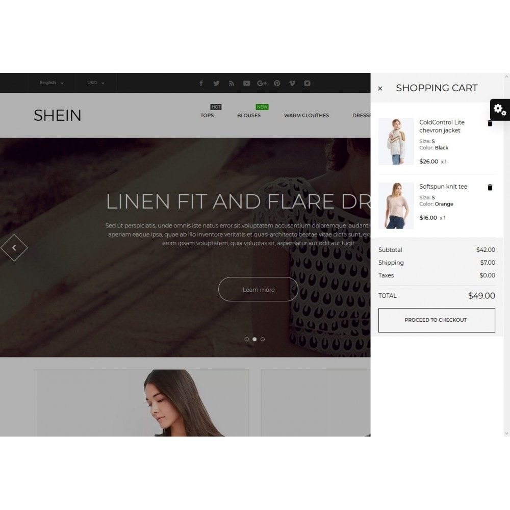 theme - Fashion & Shoes - Shein Fashion Store - 3
