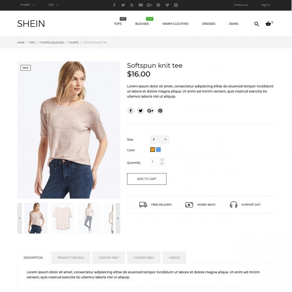theme - Fashion & Shoes - Shein Fashion Store - 8