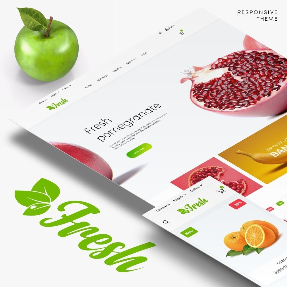 theme - Food & Restaurant - Fresh - 1