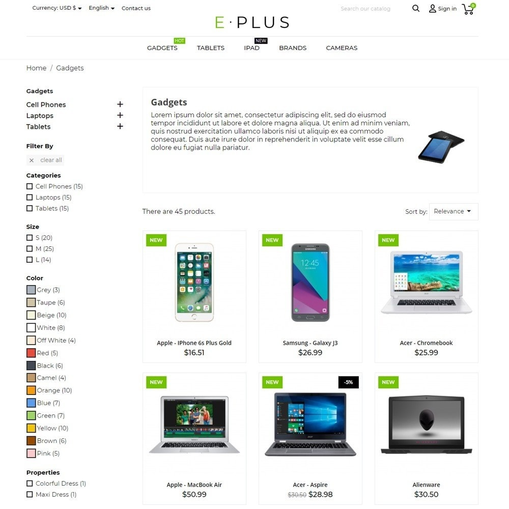 theme - Electronics & Computers - E-Plus - 7