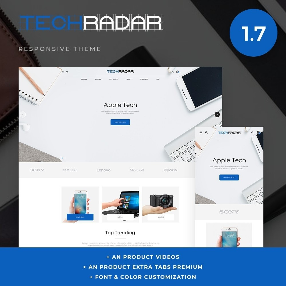 theme - Electronics & Computers - TechRadar - High-tech Shop - 1