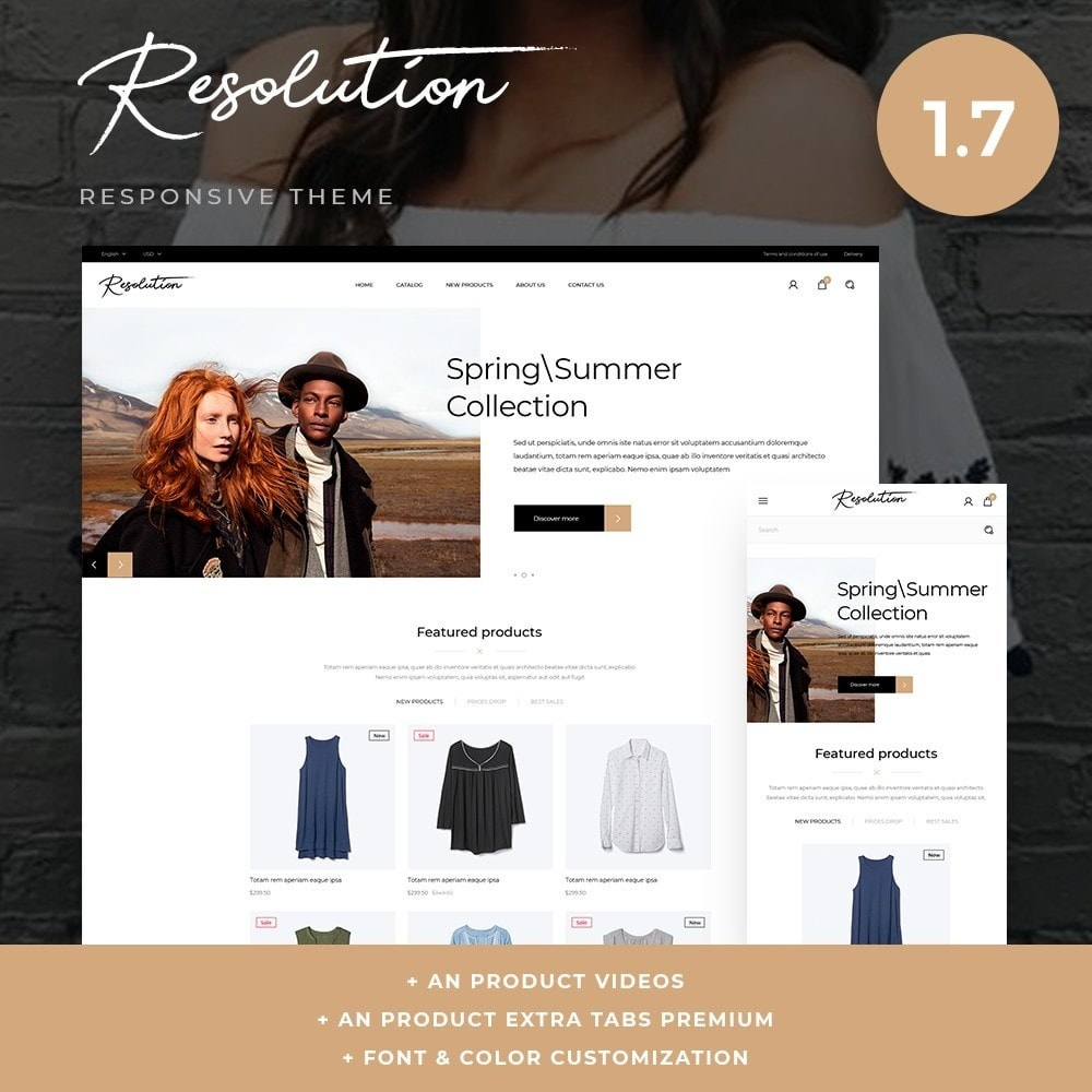 theme - Fashion & Shoes - Resolution Fashion Store - 1