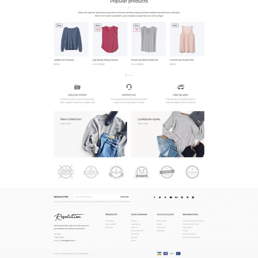 theme - Fashion & Shoes - Resolution Fashion Store - 5