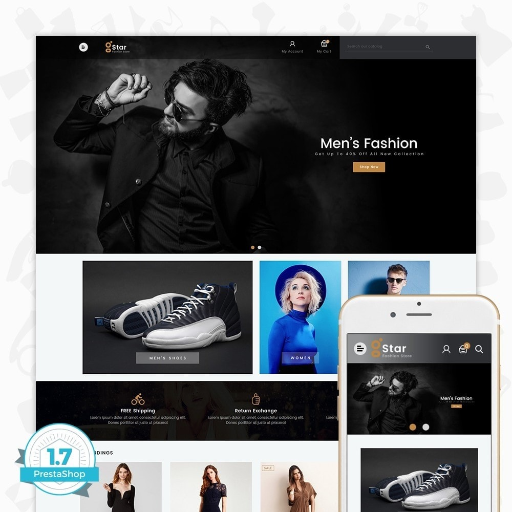 theme - Moda & Obuwie - gStar - The Fashion Store - 1