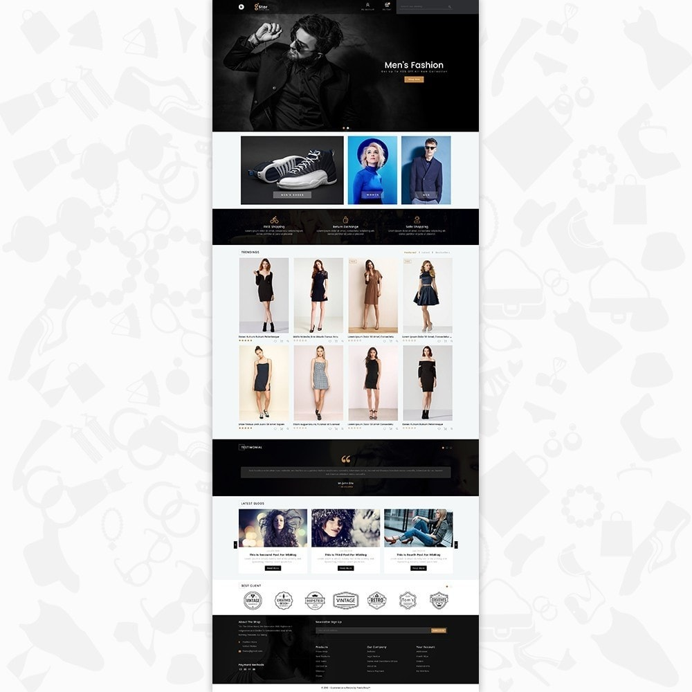theme - Moda & Obuwie - gStar - The Fashion Store - 2