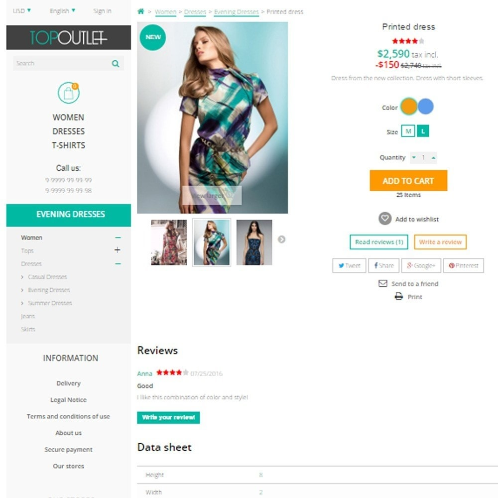 theme - Mode & Chaussures - Membrana Fashion Store - 6