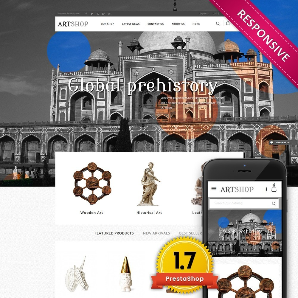 theme - Casa & Jardins - Art Shop - 1
