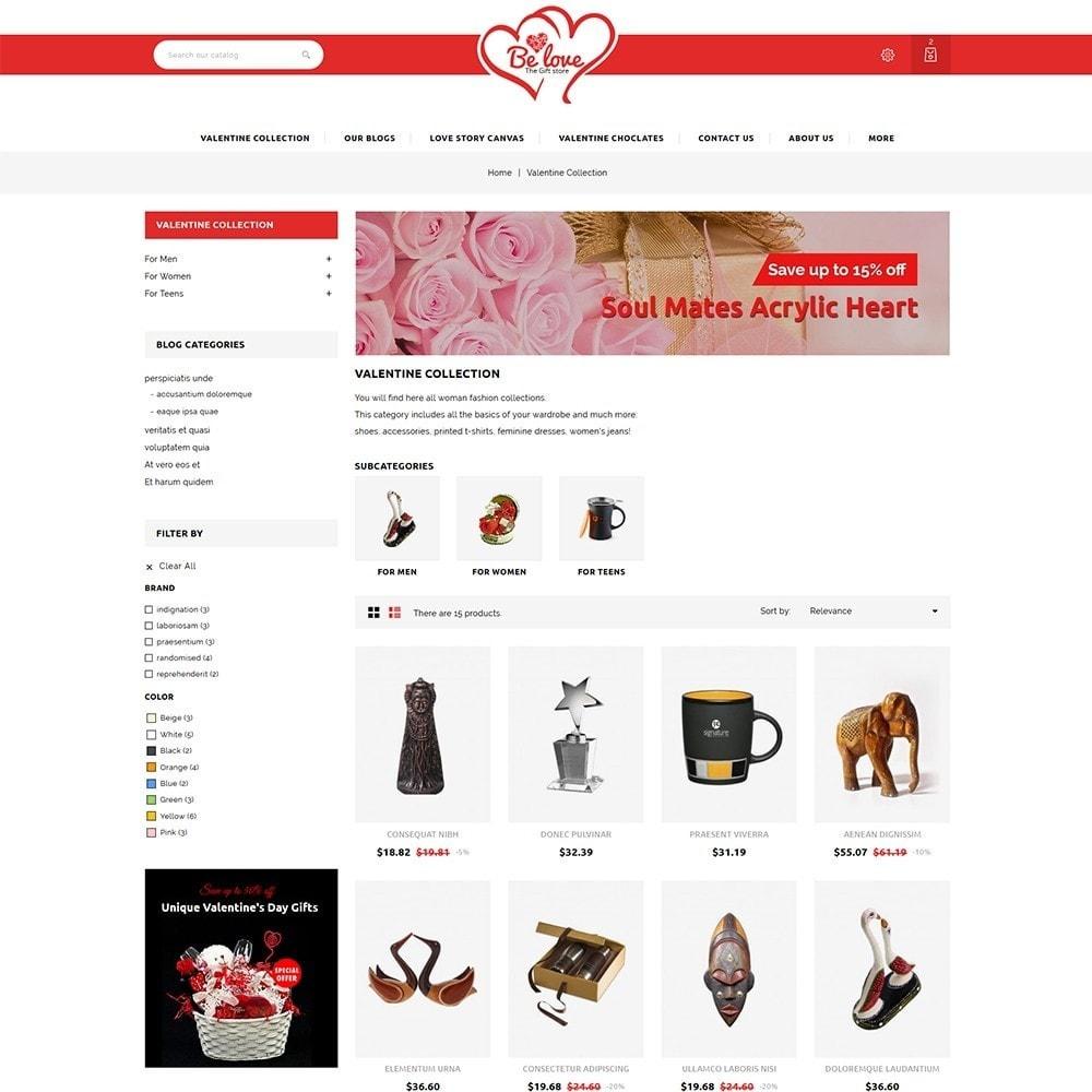 theme - Regali, Fiori & Feste - Belove Valentine Gift Shop - 4