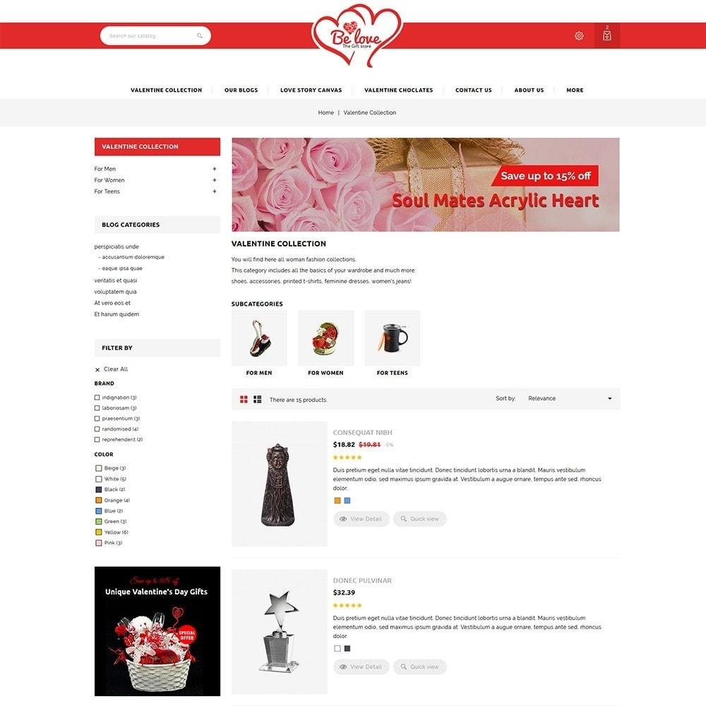 theme - Regali, Fiori & Feste - Belove Valentine Gift Shop - 5