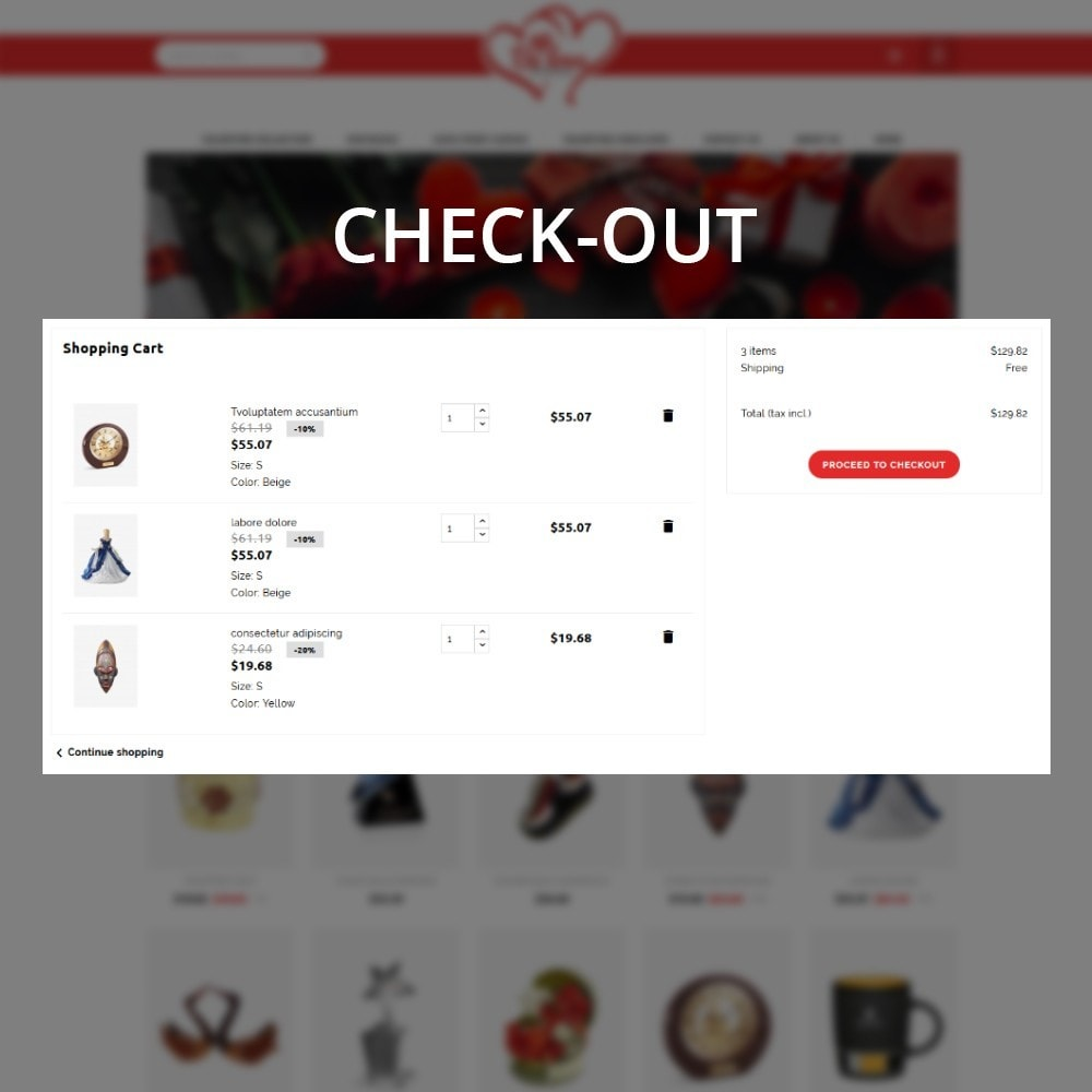 theme - Regali, Fiori & Feste - Belove Valentine Gift Shop - 9