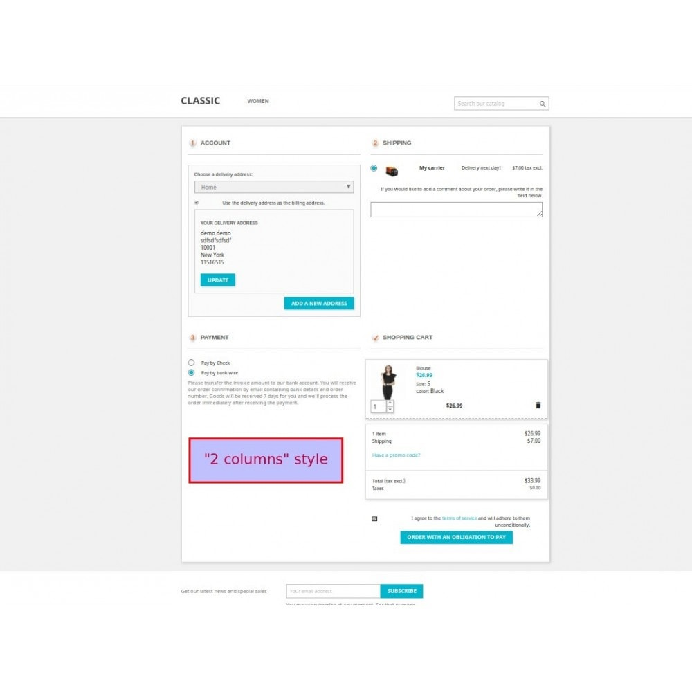 module - Bestelproces - Responsive One Step Checkout / One Page Checkout - 9