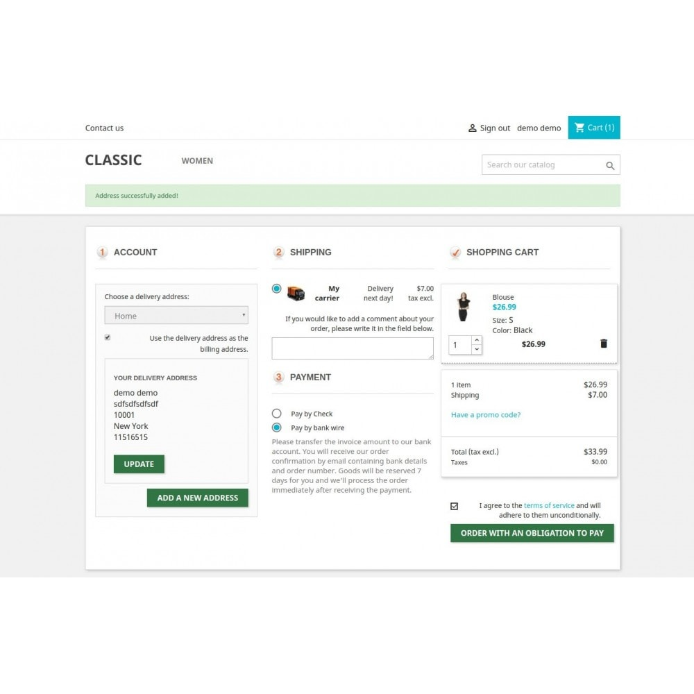 module - Bestelproces - Responsive One Step Checkout / One Page Checkout - 13