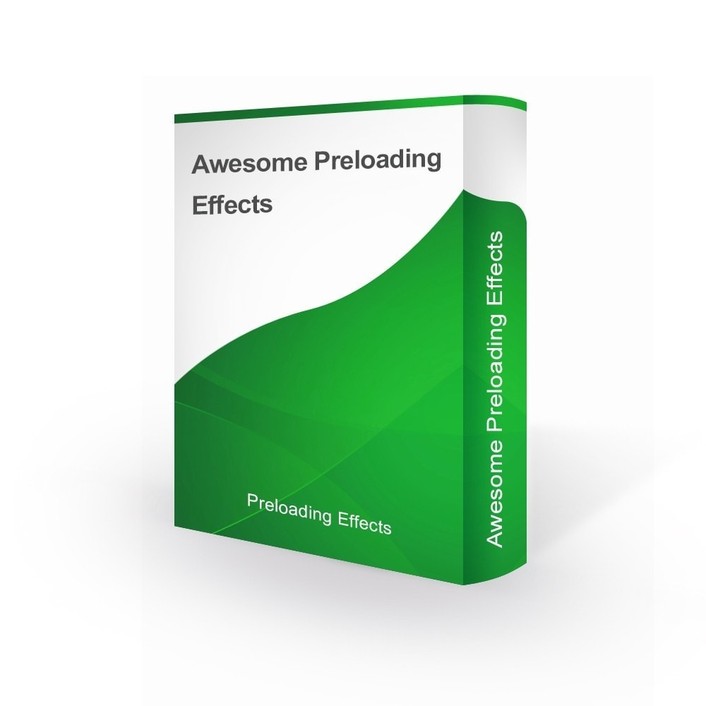 module - Personnalisation de Page - Awesome Preloader Page Loading Effects - 1