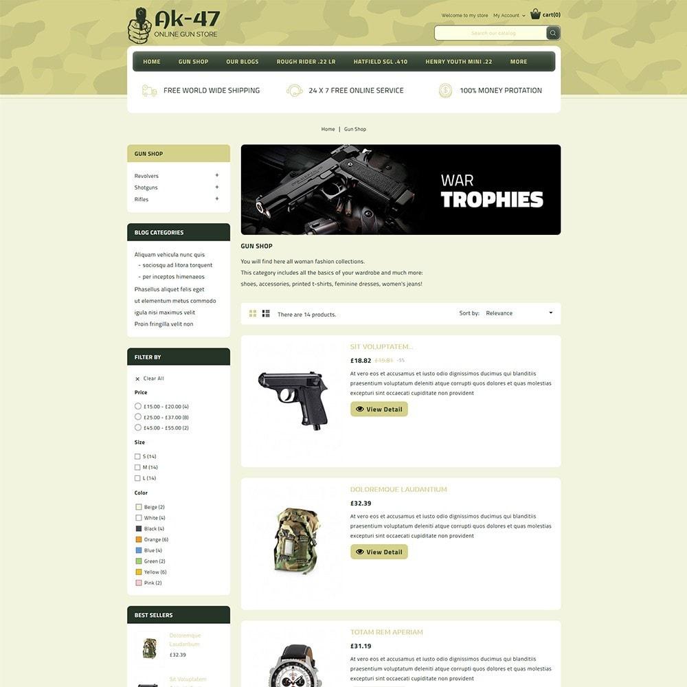 theme - Auto & Moto - AK47 Gun & Tools Store - 5