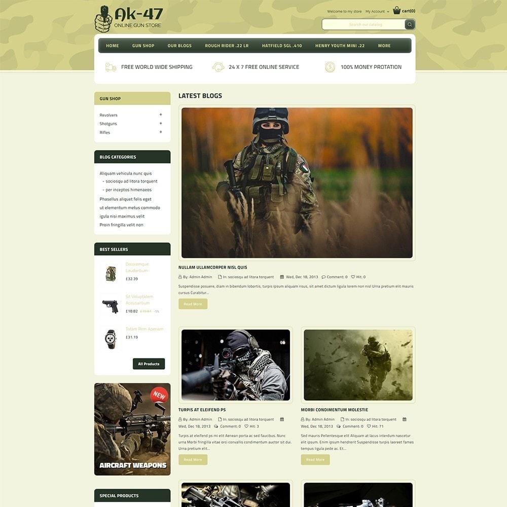 theme - Auto & Moto - AK47 Gun & Tools Store - 6