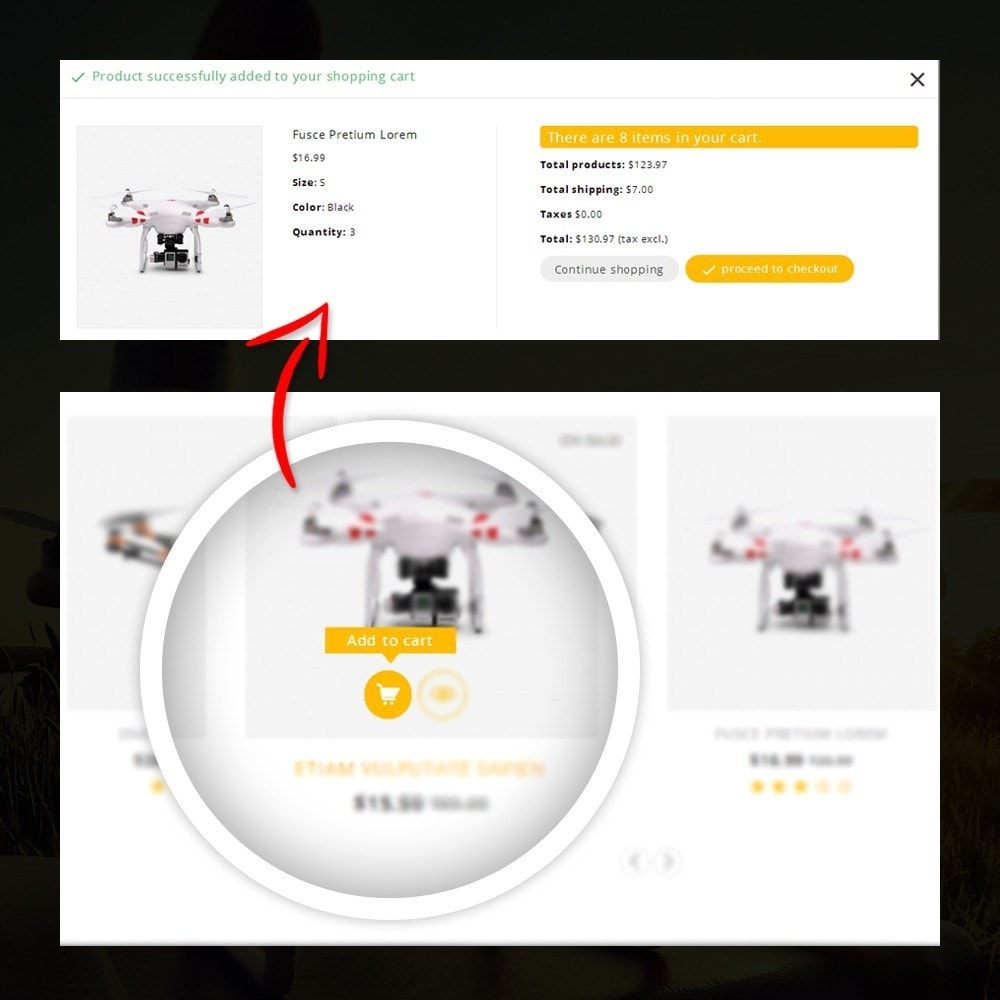 theme - Elettronica & High Tech - Drone - Online Store - 5