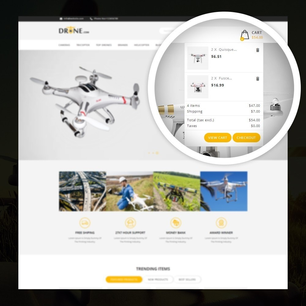 theme - Elettronica & High Tech - Drone - Online Store - 6