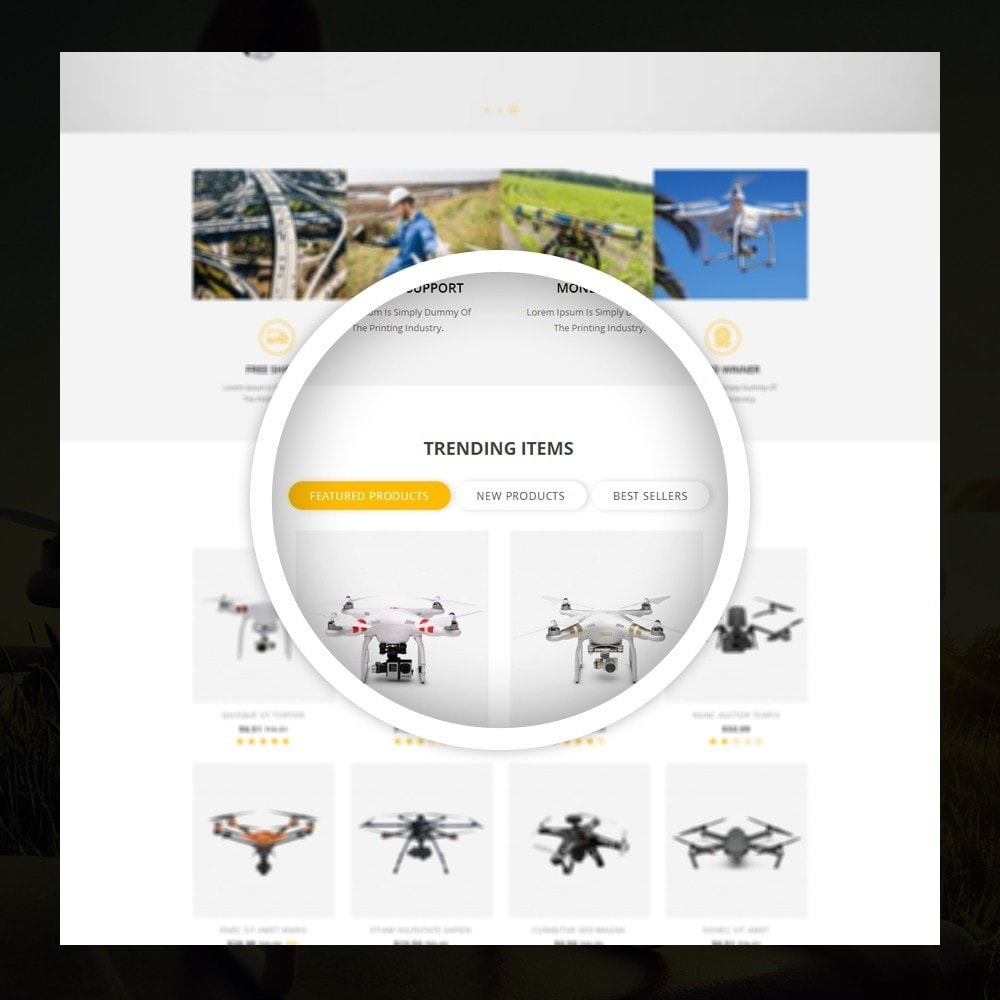theme - Elettronica & High Tech - Drone - Online Store - 9