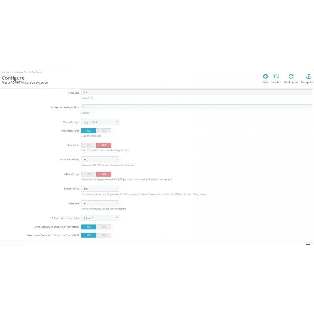 module - Importeren en Exporteren van data - RSI PDF/HTML catalog  evolution - 4