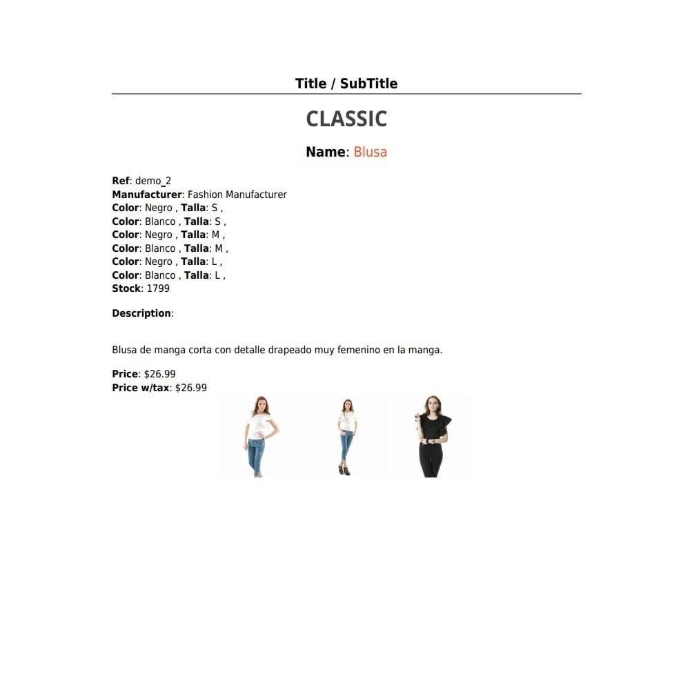 module - Importeren en Exporteren van data - RSI PDF/HTML catalog  evolution - 7