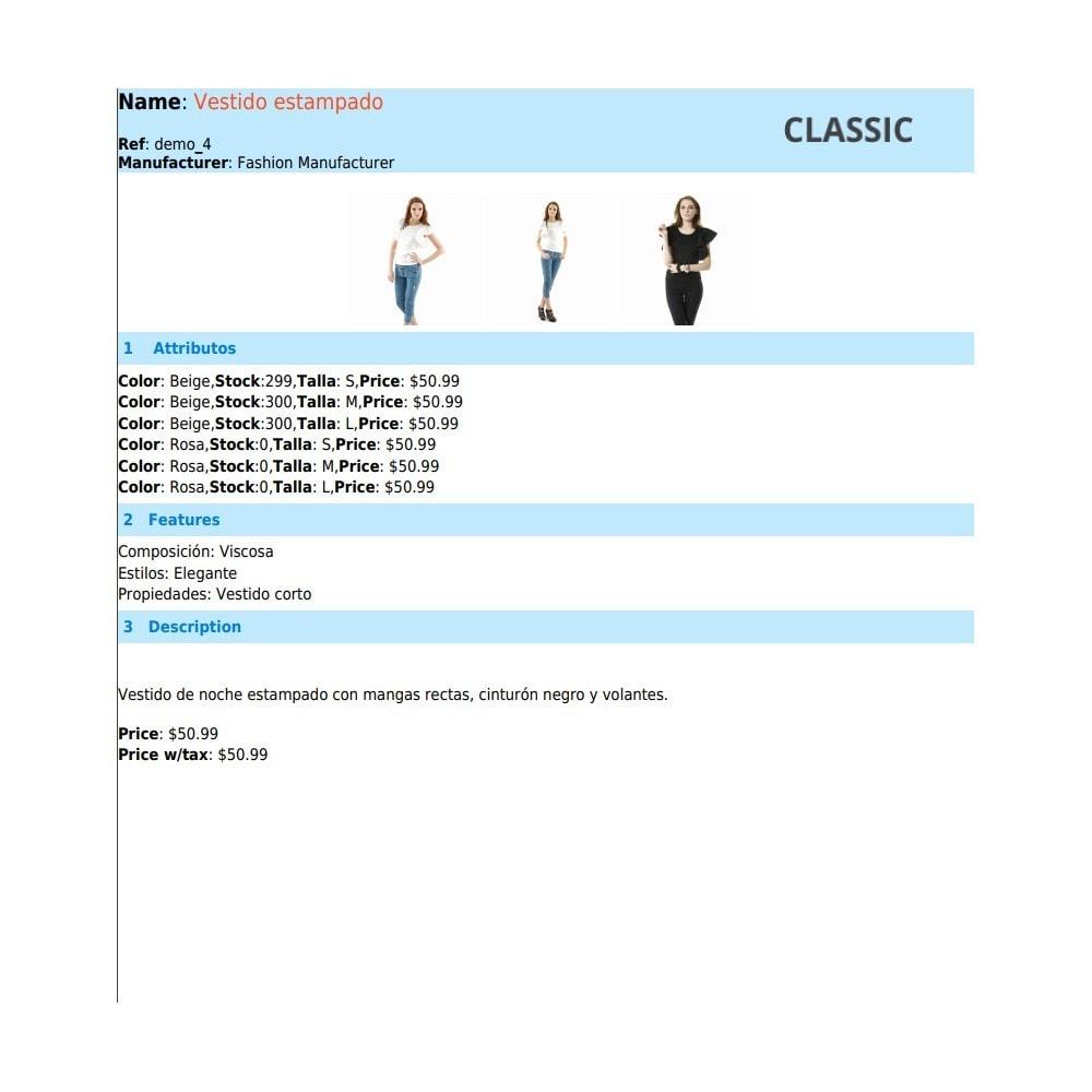 module - Importeren en Exporteren van data - RSI PDF/HTML catalog  evolution - 8