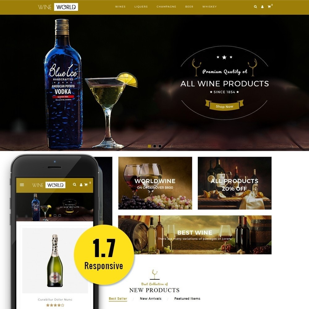 theme - Boissons & Tabac - WineWorld Store - 1