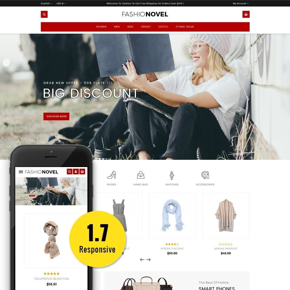 theme - Mode & Schoenen - Fashionovel Store - 1